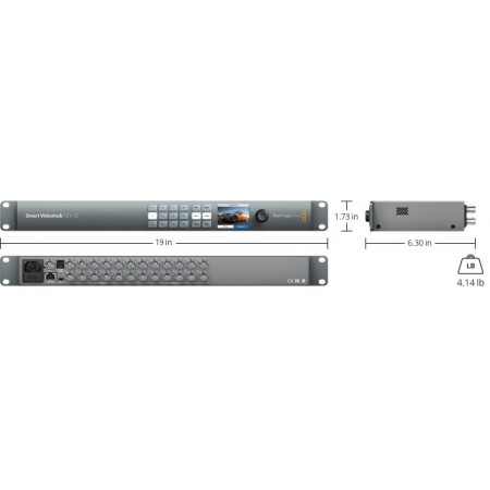 Blackmagic Design Broadcast Smart Videohub 12-20-40