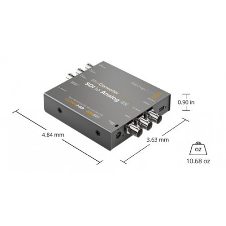 Mini converter SDI to Analog 4k BMD
