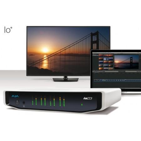 AjA Io 4K e HD I/O per Thunderbolt 2