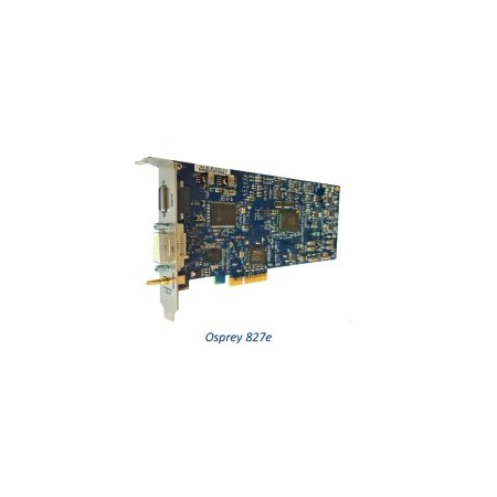 Osprey 827e Video capture cards with simulstream