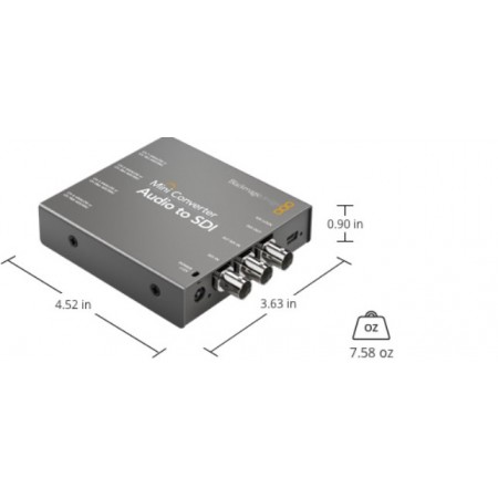 Mini converter Audio to SDI 2 BMD