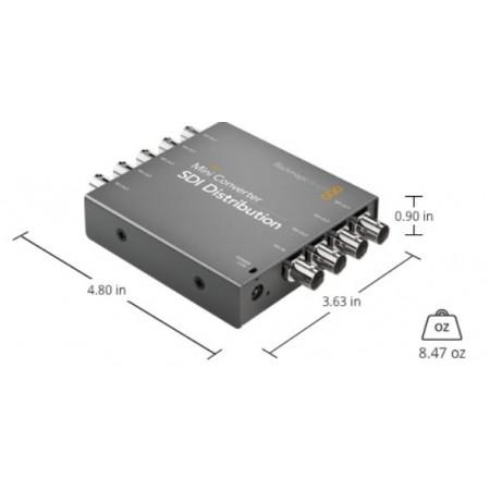 Mini Converter SDI Distribution BMD