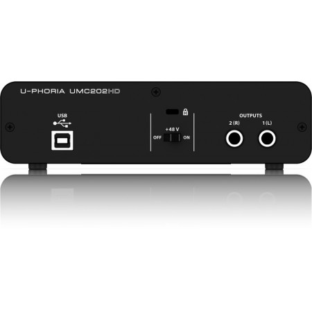 AUDIO BEHRINGER UMC202HD