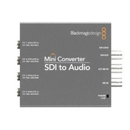 Blackmagic Design - Mini Converter SDI to Audio