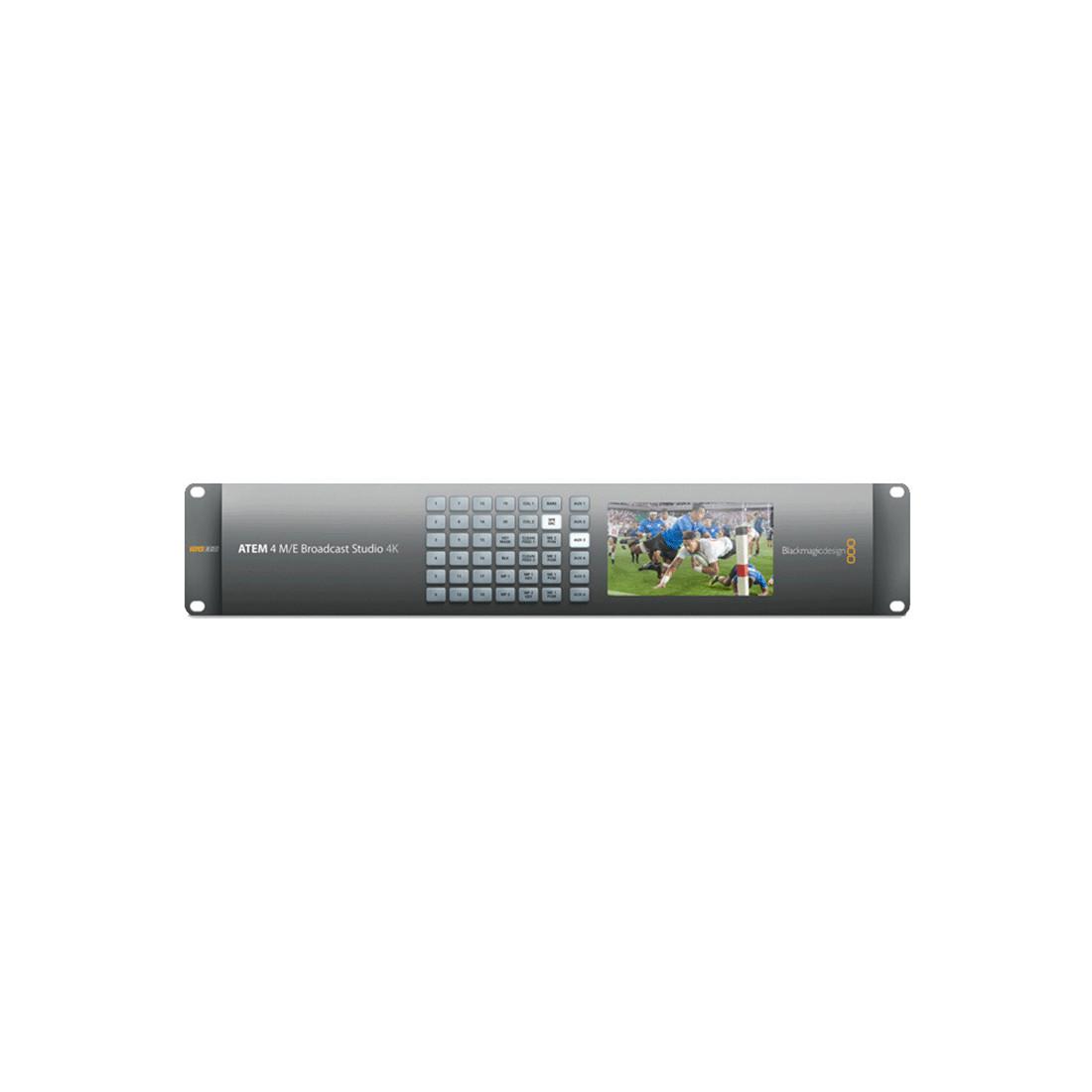 Blackmagic Atem 4 M E Broadcast Studio 4k Switcher