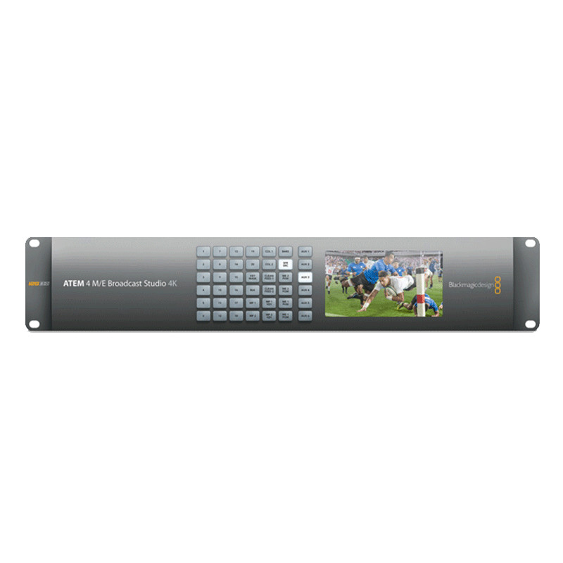 Blackmagic Atem 4 M E Broadcast Studio 4k Switcher