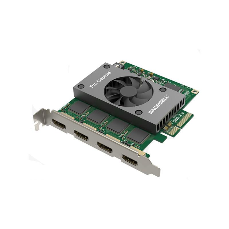 Pro Capture Quad HDMI scheda acquisizione video Magewell connessioni