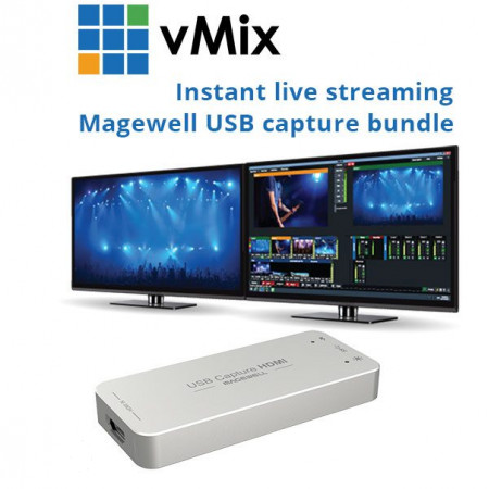 Instant streaming vMix HDMI Capture Bundle
