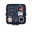 UV1201 Videocamera con zoom integrato connessioni