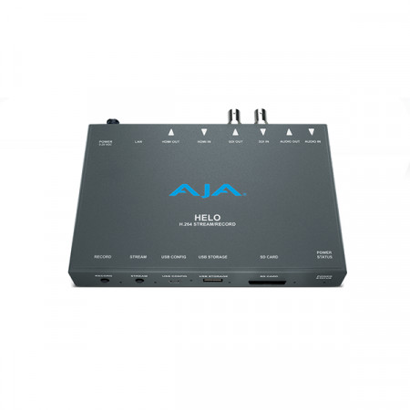 Aja Helo streaming e recording
