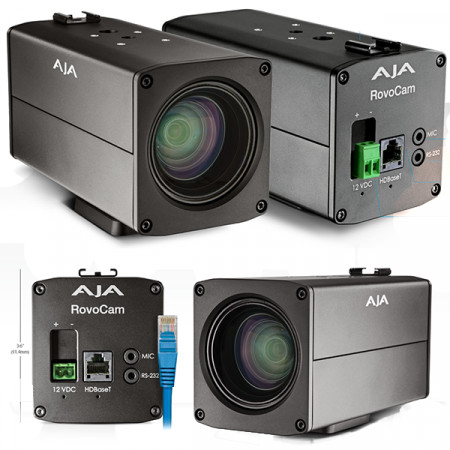 AJA ROVO UltraHD/HD Camera with HDBase