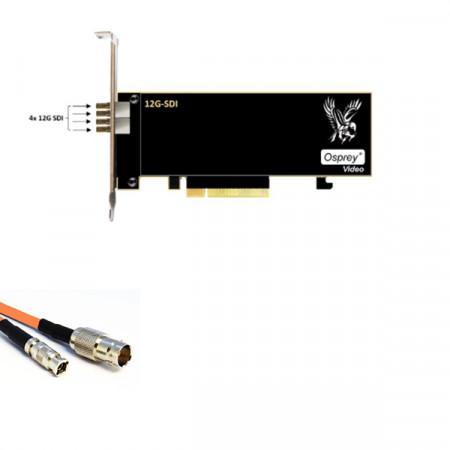 Osprey 1245 - 4 Canale 12G-SDI