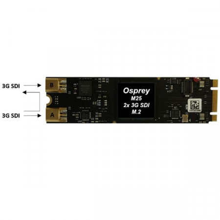 Osprey M25 - 2x 3G-SDI Channels with Loopout