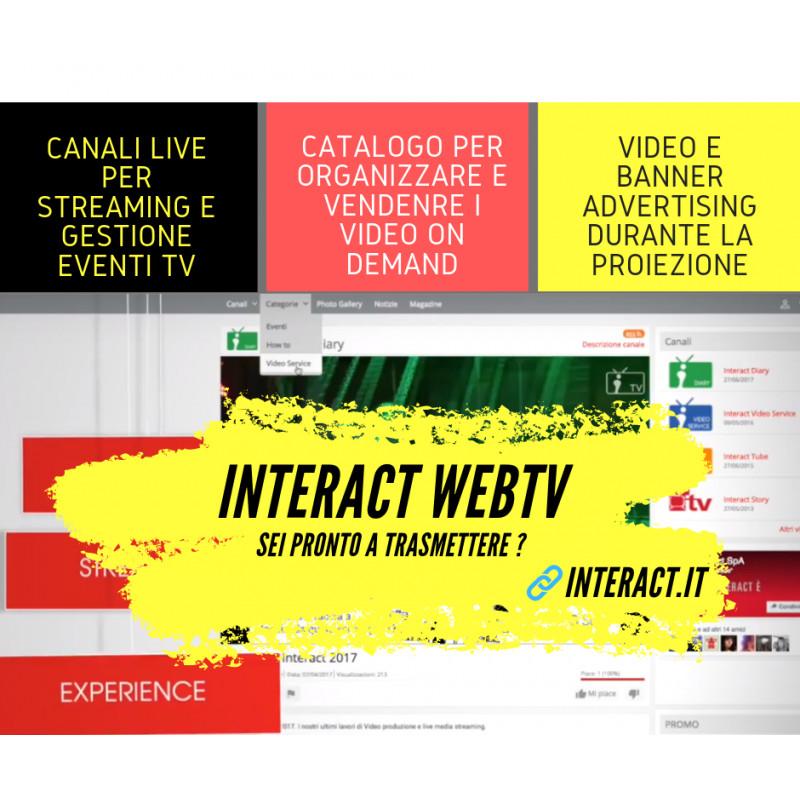 Sito web tv - home