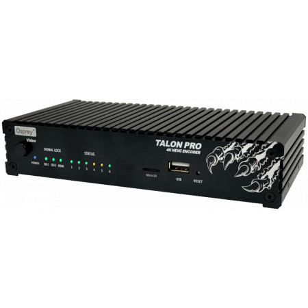 Talon G1 contribution and video encoder