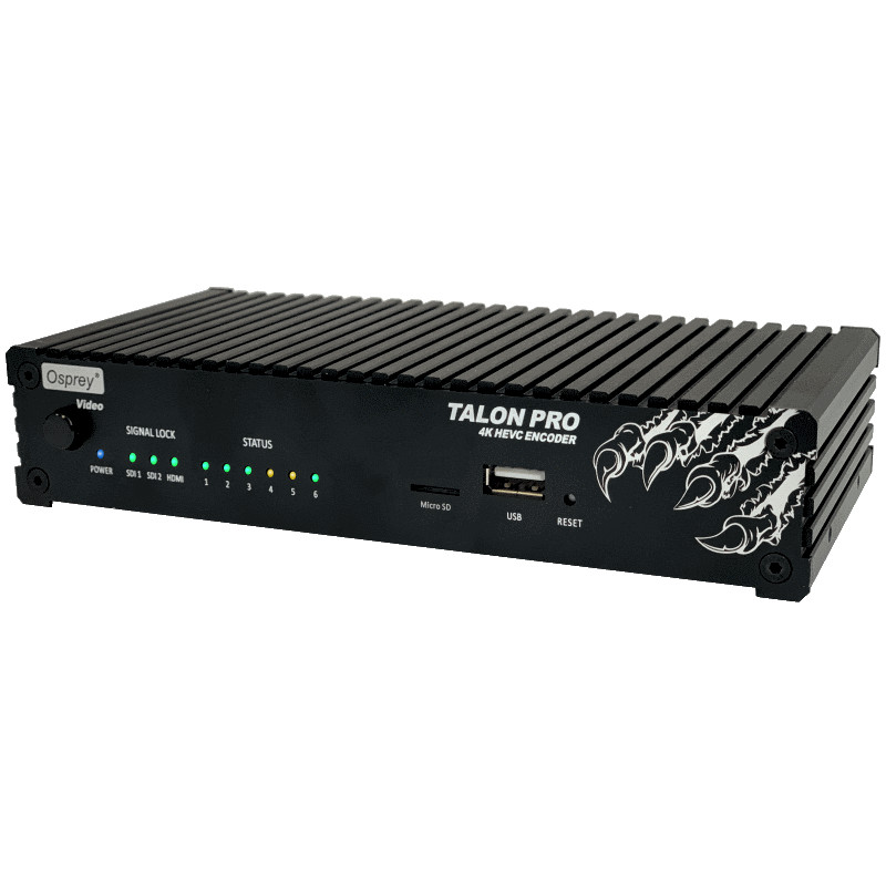 Talon G1 contribution and video encoder