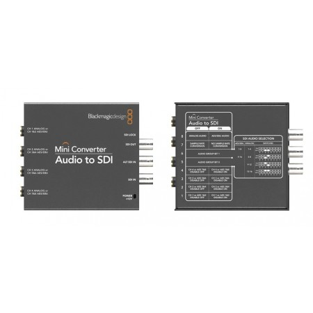 Blackmagic Design - Mini converter Audio to SDI 4k