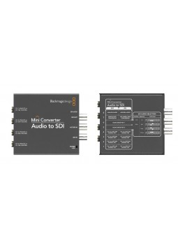 Blackmagic Design - Mini converter Audio to SDI
