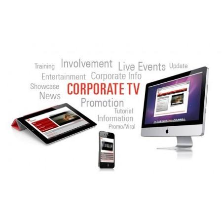 Corporate business tv