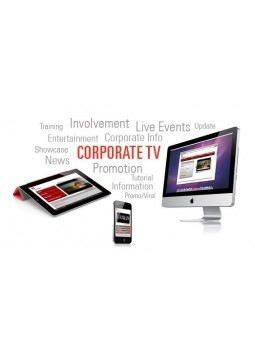 Corporate business tv