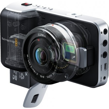 Pocket Cinema Camera BMD