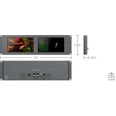 Monitor SmartScope Duo 4K-BlackMagic Design