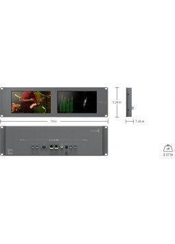 Monitor SmartScope Duo 4K-BlackMagic Design