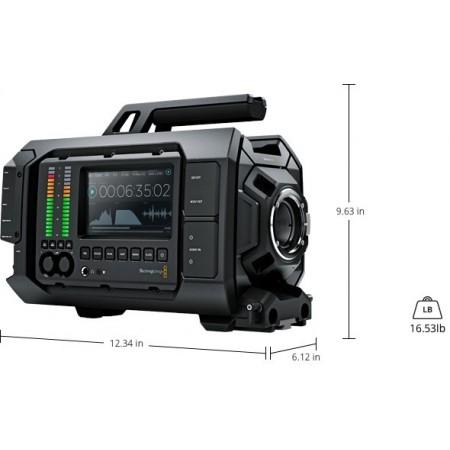 URSA Videocamera 4k full HD dimensioni