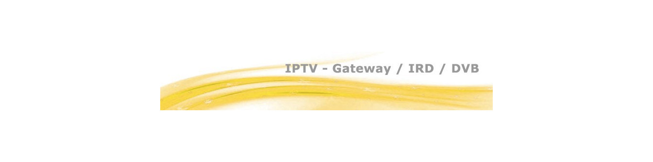 IP Gateway, IRD e DVB