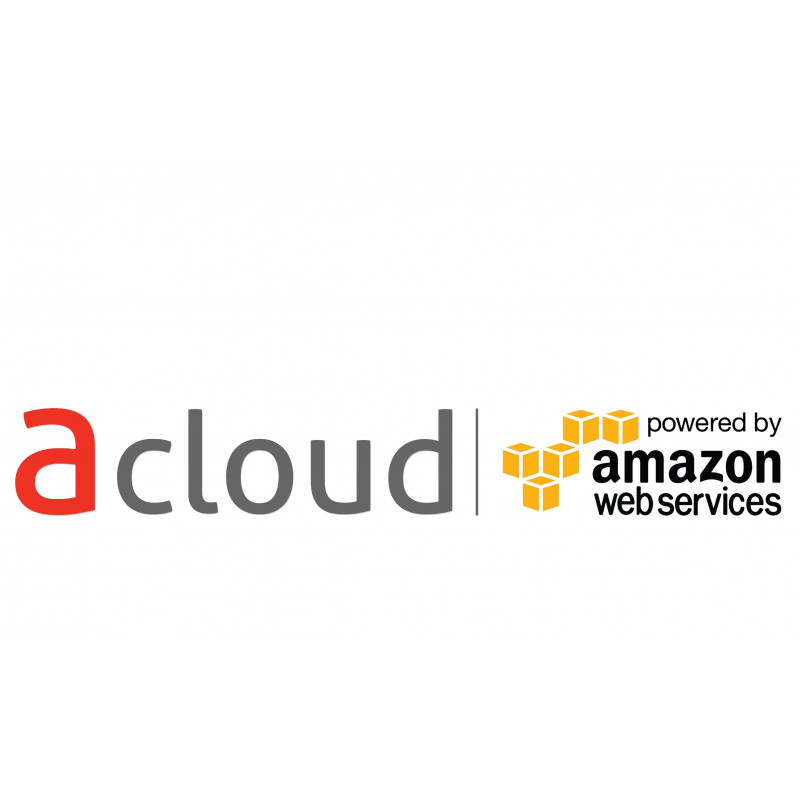 aCloud powered BY AWS