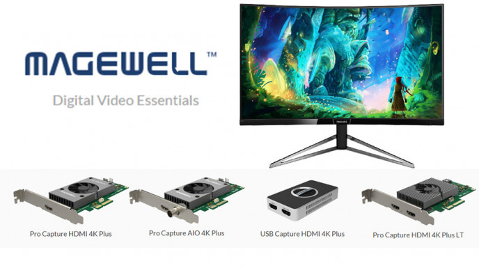 Come configurare Magewell USB Capture HDMI 4k plus