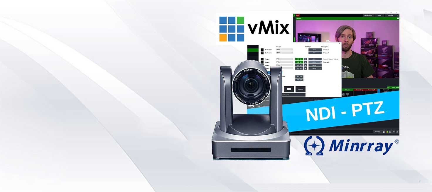 vMix NDI - Minrray UV510